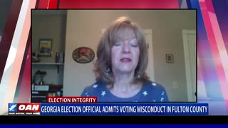 Ga. election official admits voting misconduct in Fulton County