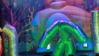 Underwater world, underwater pipes