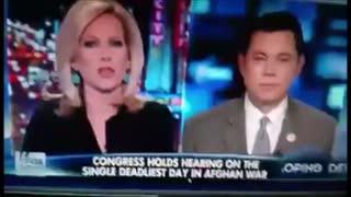 Reptilian news reporter caught again shapeshifting