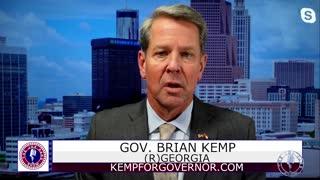Georgia Governor Kemp: There Will Be No Vaccine Mandate!