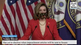 As Biden inauguration approaches, Pelosi has yet to send impeachment article to Senate
