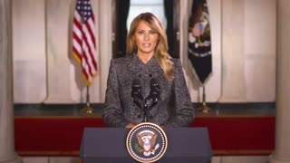 The First Lady Gives Her Farewell Speech