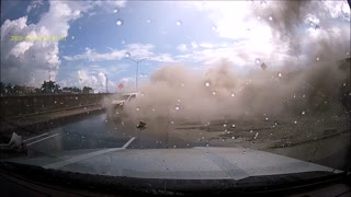 Multiple Crashes along Florida Interstate