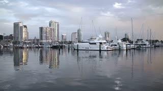 Cityscape Yacht Basin St Petersburg Florida