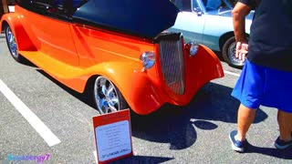 1934 Ford 3 window coupe, Florida Car Show