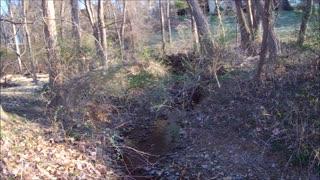 Where do our major creeks begin