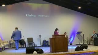 Haley Barnes, April 18, 2021