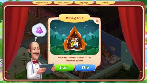 How to solve Homescapes Mini Game Camp