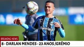 Os novos talentos do futebol brasileiro