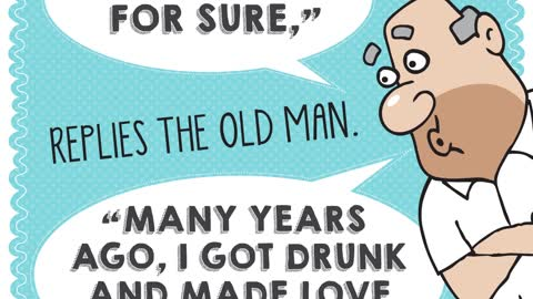 The old man & the punk, Aunty Acids Daily Chuckle.