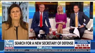 Sarah Sanders pushes back on Kilmeade's Syria criticism
