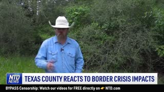 'News Break' App in Question Over China Ties; Texas County Reacts to Border Crisis Impact | NTD News
