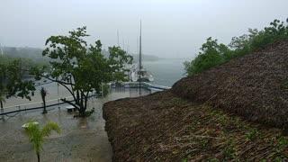 A walk through Hurricane Irma