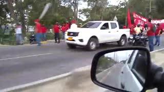 Protesta en Mamonal
