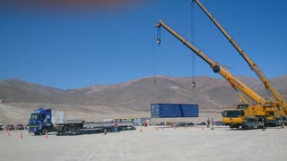 Crane Work - Plant Field Assembly South America 4 of 5