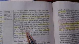 Bible study - John 6:15-21