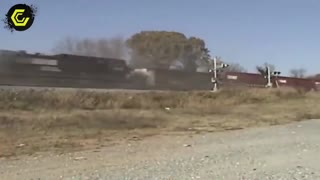 Train crash Compilation