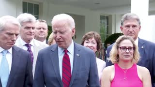 """President Biden on infrastructure: """"We have a deal."""""""