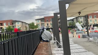 Storm Causes Massive Mattress Migration