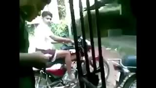 Funny Indian Road Accident