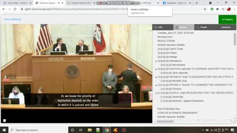 question on override veto on sb298 a true Arkansas Sovereignty Bill