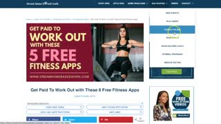 5 Free Fitness Apps That Pay Money To Workout