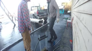 Stainless Steel Mast Pin Removal