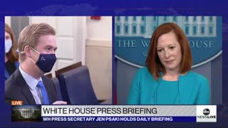 Reporter Corners Psaki About Biden's Past Comments On Immigration During Intense Exchange