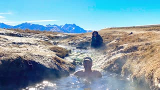 Hot Springs in Mammoth Lakes - Winter 2020