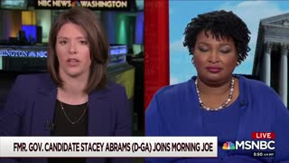 Stacey Abrams talks about Identity Politics