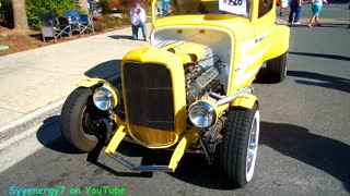 1932 Ford 3 window Coupe, Florida Car Show