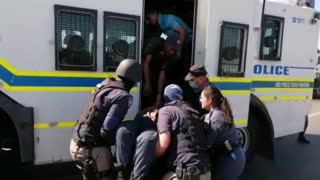 Two Police Officers Injured