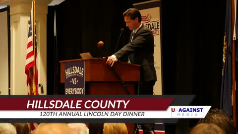 Hillsdale County Republican Party 120th Annual Lincoln Day Dinner with James O'Keefe -
