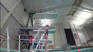 Kid Videos Jackie Does the Indoor Water Slide!!!