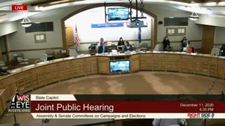 LIVE- Wisconsin Election Fraud Public Hearing 12_11_20
