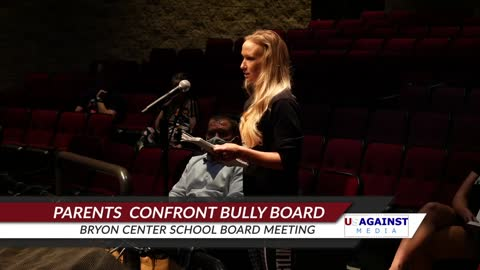 Byron Center Bully School Board Gets Confronted By Parents