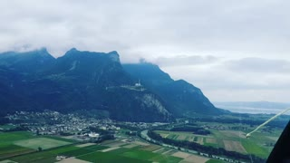 Helicopter tour in Switzerland