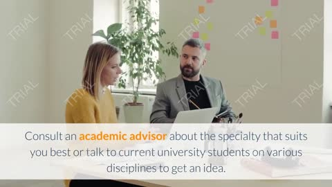 how do i choose my university field and specialization and achieve goals and dreams