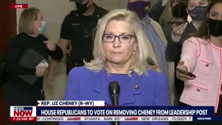 Liz Cheney Attacks Trump After Losing House Leadership Seat