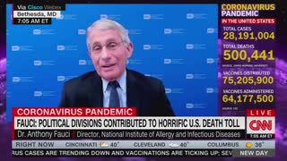 Anthony Fauci And Alisyn Camerota Discuss Trump And The Pandemic