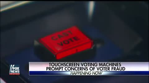Touchscreen Voting Machines Prompt Concerns of Voter Fraud, Oct. 17, 2016.