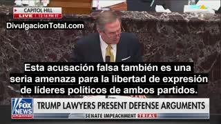 12-FEB-2021 Michael Van Der Veen - Abogado de Trump en Impeachment