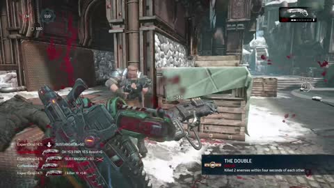 Gears of War 4 King of the Hill on Oldtown Full Match
