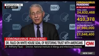 More Fake News From Fauci