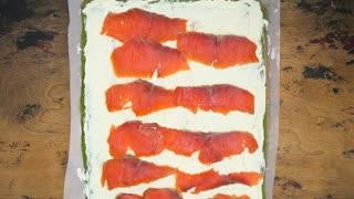 Arugula Salmon Roll Recipe Tasty