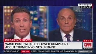 Chris Cuomo vs Rudy Giuliani battle part two