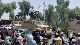 Taliban Throw Military Parade With Equipment Joe Biden Left Behind