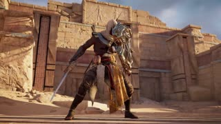 Assassin's Creed Origins Official Final Fantasy XV A Gift From the Gods Trailer