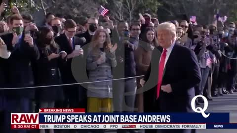Il primo video di Trump (inaspettato) dal 6 gennaio 2021 (oggi 12 gen).