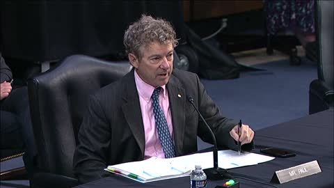 """""""I've Been Trying for Over 10 Years to End the Iraq War"""" Dr. Paul at SFRC Hearing - August 4, 2021"""